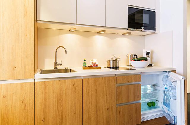 Boardinghouse - Ingolstadt Apartments - Wohnen auf Zeit - Küche