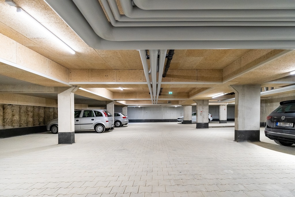 Boardinghouse - Ingolstadt Tiefgarage